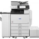 Lanier mp5002 black and white multifunction printer