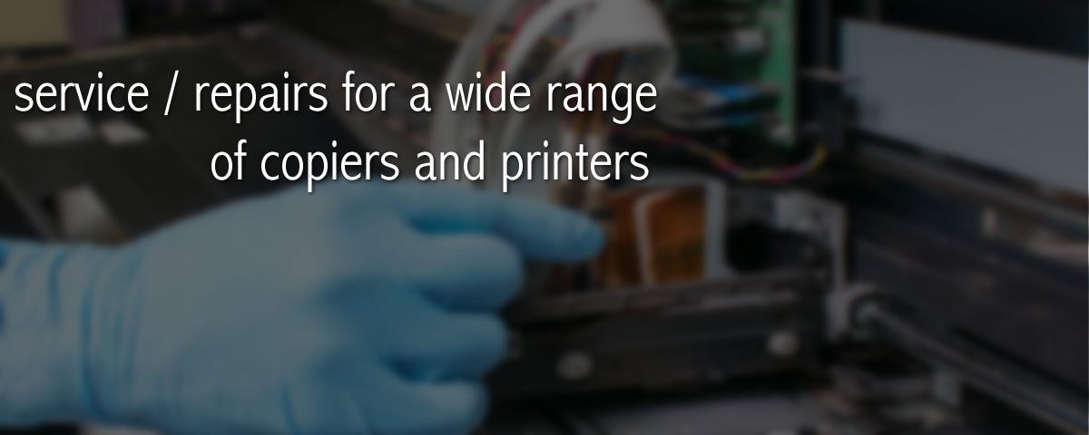 Service and repairs for printers and copiers in Melbourne